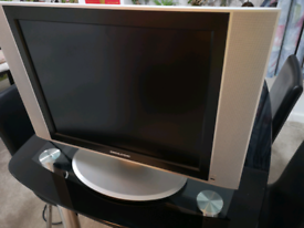 TV with VGA and scart socket