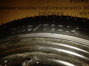 OEM Goodyear Honda Civic SPARE Tire T115/70D14 Kitchener / Waterloo Kitchener Area image 2