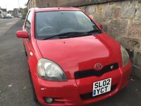 Toyota Yaris T Sport with one years MOT £1000ono