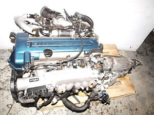 JDM TOYOTA 2JZ VVTI SUPRA ARISTO TWIN TURBO ENGINE
