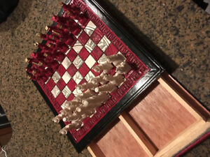 Mexican made chess set