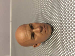 1/6 Figure Vin Diesel head sculpt