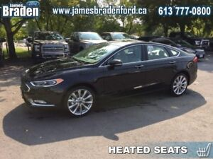 2018 Ford Fusion Platinum  - Leather Seats -  Cooled Seats