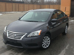 2015 Nissan Sentra S Auto ONLY 62000KMS! CERTIFIED!