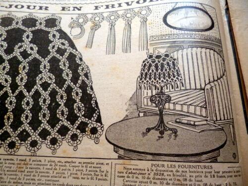 *VTG 1920s PARIS FASHION & SEWING PATTERN CATALOG LE PETIT ECHO de la MODE 1923