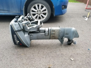 Evinrude 9.9hp 1986 pied long