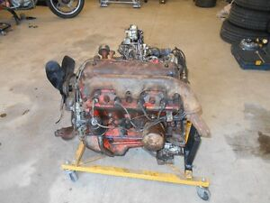 292 FORD COMPLETE MOTOR NOT RUNNING