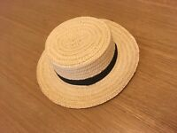 Straw punting Oxford Cambridge St Trinians Hat