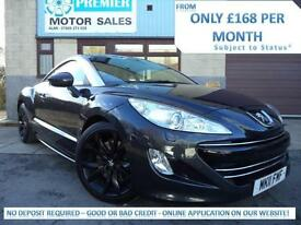 2011 PEUGEOT RCZ 1.6 THP 200 GT, FULL HEATED LEATHER, CRUISE, PARKING SENSORS +