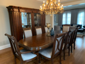 AICO Dining set with Huge Buffet & Side Board