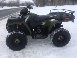 2014 POLARIS 400 SPORTSMAN...PLOW AVAILABLE (FINANCING)