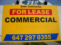 Commercial Space Next to Shoppers Drug Mart On High Traffic Road