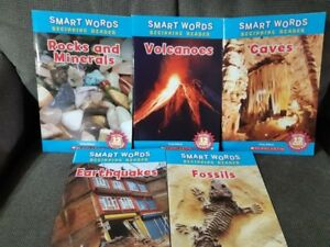 Beginning Readers - Science Books - Smart Words (5)