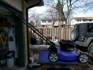 Quattro Gas Powered Lawnmower for Sale
