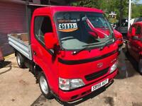 2006 56 TOYOTA DYNA 300 SWB DROPSIDE / 1 X OWNER FROM BRAND NEW LOW MILES
