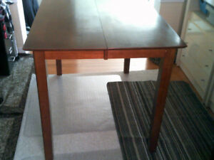Pub Height Dining Table and 4 Chairs