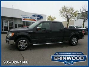 2009 Ford F-150 Lariat5.4L V8/LTHR/CHROME STEP BARS/SYNC