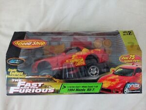 Rare - The Fast and the Furious Speed Shop 1994 Mazda RX-7 1:18