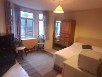 Large Double Room with all bills and internet incl.