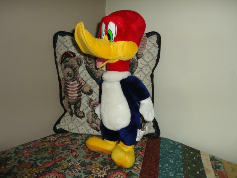 WOODY WOODPECKER Stuffed Plush Toy Best Made Toys Toronto