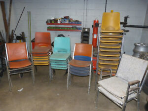 Used Plastic Chairs - 13 Left
