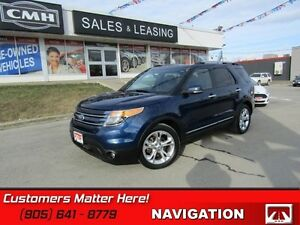 2012 Ford Explorer Limited   NAVIGATION, CAMERA, HEATED LEATHER,