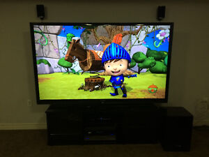 "80"" Sharp Aquos LED t.v"