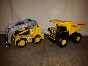 2 TONKA TRUCKS (excellent condition/1battery operated works!)