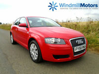AUDI A3 1.6 SPECIAL EDITION 3DR RED - ONE OWNER - F.S.H - CAMBELT DONE