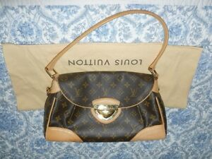 Sac Louis Vuitton Authentique Beverly MM Handbag / Sacoche