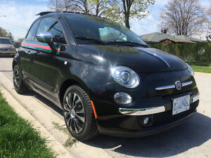 2013 Fiat limited edition  Gucci mint condition
