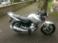 2011 (61) Yamaha YBR-125 125cc Learner/Commuter - Silver - 18413 miles