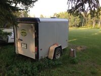 2008 enclosed 5x8 trailer