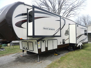 38' SIERRA BY FOREST RIVER..5th wheel...IMMACULATE