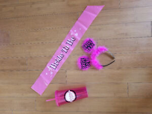 FunWedding Bachelorette Party Accessories for the Bride to be!!