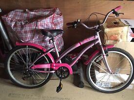 Apollo charm girls bike for sale