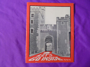 Let's Go Inside the Cardiff Castle Pamphlet