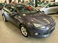 2012 Ford Focus 1.6 ZETEC PETROL-GREY-SH-LOVELY FAMILY CAR-MUST SEE Hatchback Pe