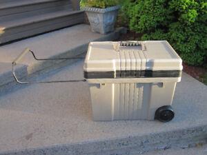 Plano Pro Contractor 50 Gallon Tool Box with Wheels