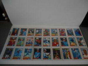 CARTES DE HOCKEY(TEAM SET EXPOS DE MONTREAL OPC 1992)