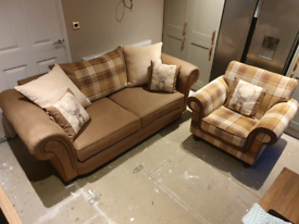 Three seater sofa & accent chair..can deliver
