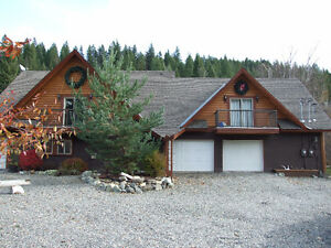 Reduced!! Home with Revenue Suite on 1 Acre Close to Sun Peaks