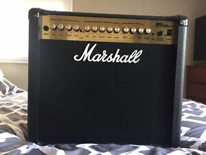 Marshall MG50DFX Combo Amplifier w/Pedal