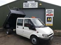 Ford Transit D/C Tipper no VAT