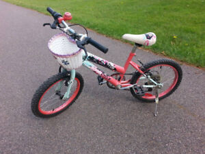 """Girl's 18"""" Bike for Sale; Would Fit a Child 5-8 Years Old!"""