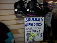ALPINESTAR SHOES FOR MEN & WOMEN , NOW ONLY 159.95 A PAIR!