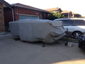 Pop up Trailer protective cover.