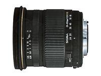 Nikon-Fit Sigma 24-60mm f/2.8 EX DG