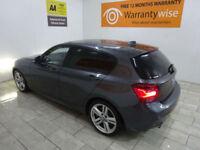 Grey BMW 1 Series 120 2.0TD Hatch M Sport ***FROM £312 PER MONTH***
