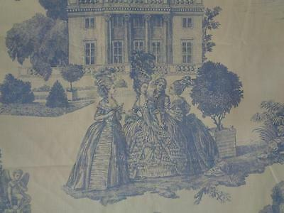 TOILE DE JOUY Marie Antoinette Rokoko Louis XVI
